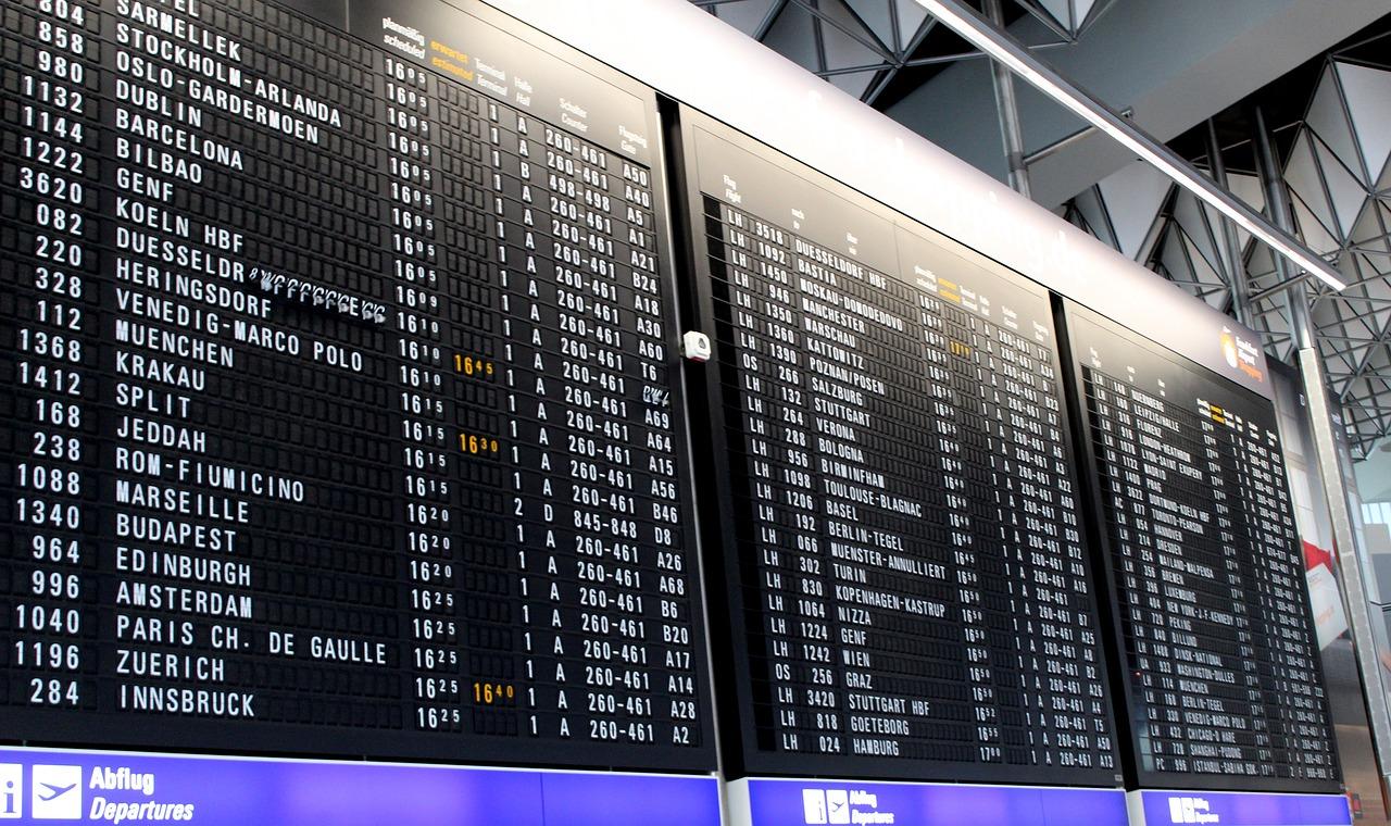 Аэропорт прилет